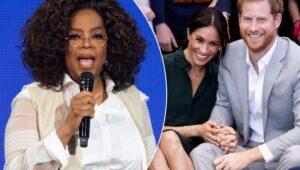 Oprah with Meghan & Harry